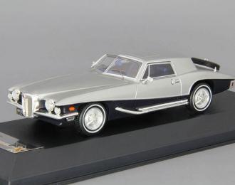 STUTZ Blackhawk Coupe (1971), blue / silver