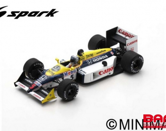 Williams FW11B #5 Australian GP 1987 Riccardo Patrese