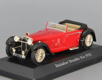DAIMLER Double Six 50 Convertible (1931), red