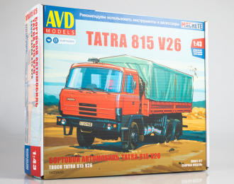Сборная модель Tatra 815V26 бортовой