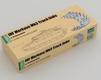 Сборная модель Наборные гусеницы для израильского ОБТ Merkava Mk3