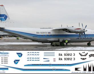 Декаль на самолет Атонов Ан-12Б (айтран)