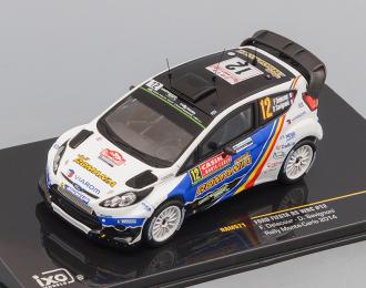 FORD FIESTA RS WRC #12 Delecour-Savignoni Rally Monte Carlo 2014