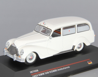 EMW 340 Kombi Ambulance (1953), white