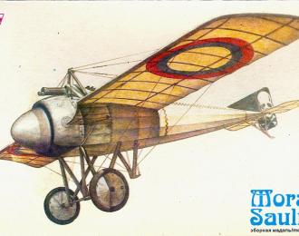 Сборная модель Французский истребитель Morane-Saulnier J