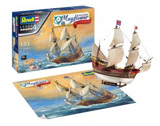 Сборная модель Mayflower - 400th Anniversary (подарочный набор)