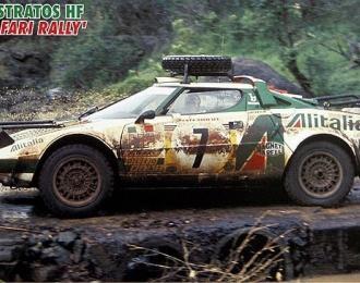 Сборная модель LANCIA Stratos HF 1977 Safari Rally