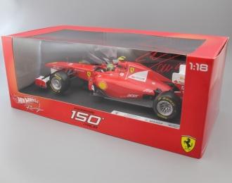 FERRARI F150 Italia F. Massa (2011), red