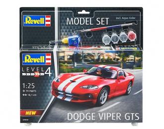 Сборная модель Dodge Viper GTS (подарочный набор)