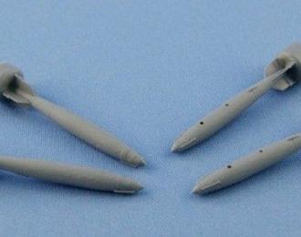 Набор дополнений Американские бомбы GBU-38 (500 lb. MK-82 GP) JDAM (4 шт.)