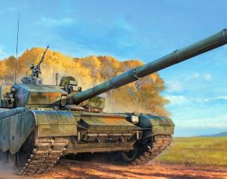 Сборная модель Танк PLA ZTZ-99A MBT