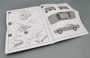 """Сборная модель Plymouth GTX 1971 Fast & Furious из к/ф """"Форсаж"""""""