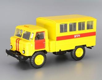Горький 66 ВГСЧАС 3902, Автомобиль на службе 79, желтый