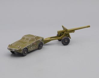 """Игрушка Бронеавтомобиль и полевая пушка, серия """"Военная техника"""""""