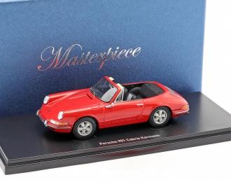 Porsche 901 Karmann Cabriolet (red)