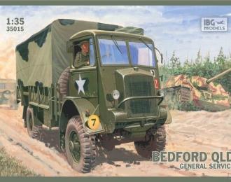 Сборная модель Британский грузовой автомобиль Bedford QLD General service