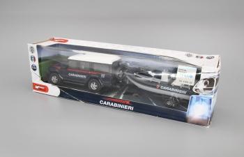 IVECO Massif 5-door Carabineri с лодкой Security, black