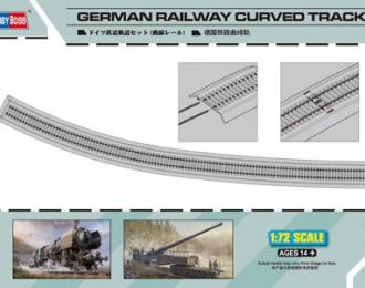 Сборная модель Рельсы German Railway Curved Track