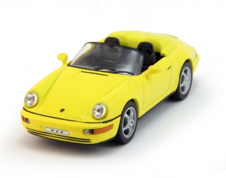 PORSCHE 964 Speedster (1993), yellow