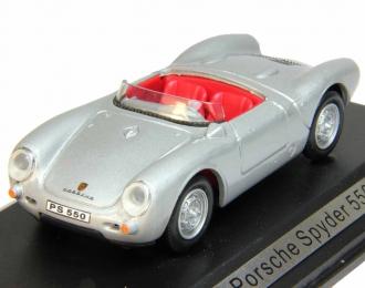 PORSCHE Spyder 550, silver