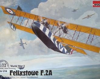 Сборная модель Британская летающая лодка Felixstowe F.2A (поздняя)