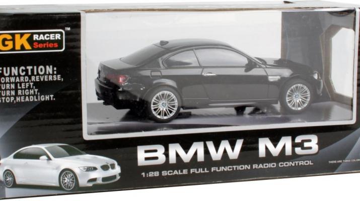 BMW M3 на радиоуправлении, black