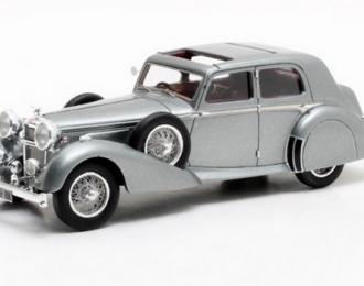 ALVIS 4.3 l Saloon Cross & Ellis Charlesworth 1938 Metallic Grey