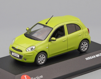 NISSAN March (2010), green