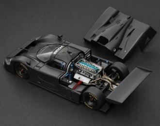 JAGUAR XJR-9, black matt