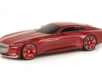 Mercedes-Maybach Vision 6 купе, красный