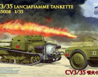 Сборная модель CV3/35 Lanciafiamme tankette