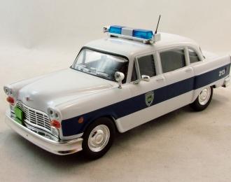 CHECKER Marathon Полиция Великобритании, Полицейские Машины Мира 35, голубой