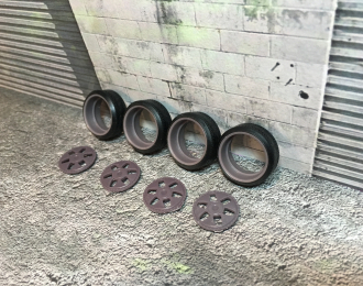 Комплект дисков MAE Wheel (с резиной Proxes T1-R)