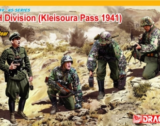 Сборная модель LAH Division Kleisoura Pass 1941