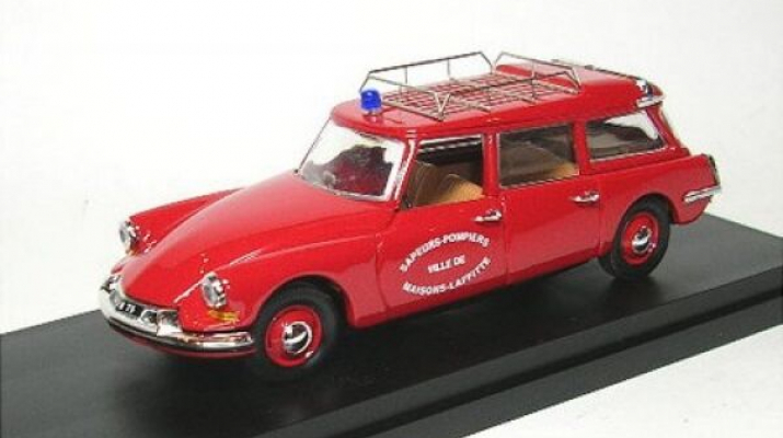 CITROEN ID19 Break Pompiers, red