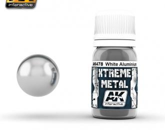 XTREME WHITE ALUMINIUM (металлик белый алюминий)