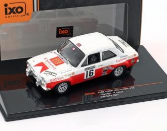 """FORD Escort MK1 RS1600 #16 """"Embassy Team"""" Mäkinen/Liddon RAC Rally 1971"""
