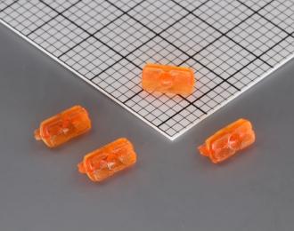 Фонарь задний ФП-132А, комплект 10 шт., оранжевый