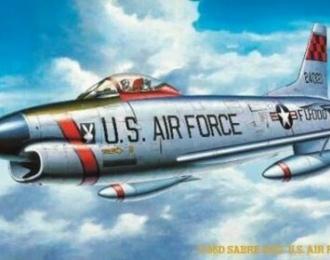 Сборная модель Самолет F-86D SABRE DOG U.S. AIR FORCE