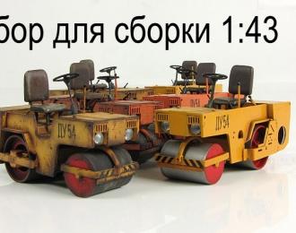 Сборная модель Каток тротуарный ДУ-54