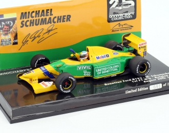 BENETTON FORD B192 - MICHAEL SCHUMACHER - 1ST F1 WIN BELGIAN GP 1992