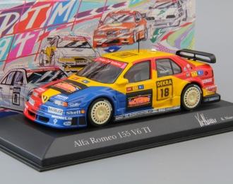 ALFA ROMEO 155 V6 TI DTM Team Schubel K.Nissen #18 (1994), blue / yellow / red