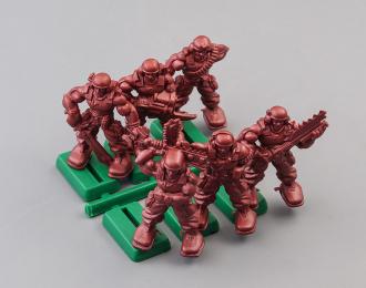 Набор фигурок / солдатиков Бронепехота Империя, Легкая штурмовая клон-пехота