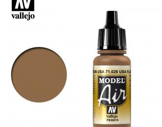 Краска акриловая `Model Air` Американский коричневый/US Flat Brown