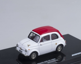 FIAT Abarth 595 SS (1964), white/red