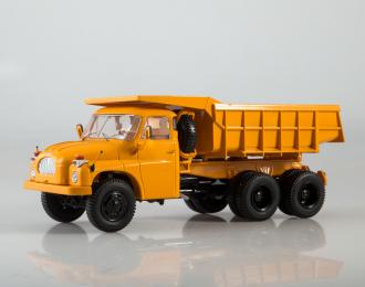 TATRA-138S1 самосвал, желтый