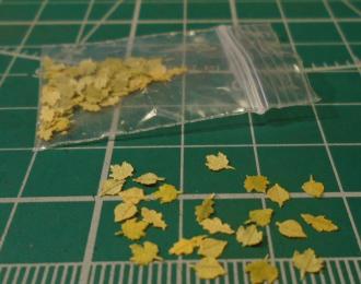 Листья для диорам Ассорти
