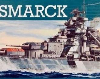 Сборная модель Немецкий линейный корабль Бисмарк