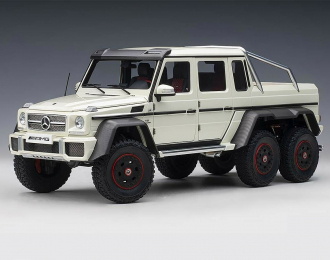 Mercedes-AMG G 63 6x6 - 2013 (diamond white)