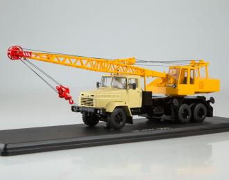 Автокран КС-4561 (250), желтый / оранжевый